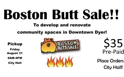 Boston Butt Fundraiser! Orders Due August 29!