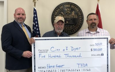 Dyer Receives $500,000 Home Improvement Grant